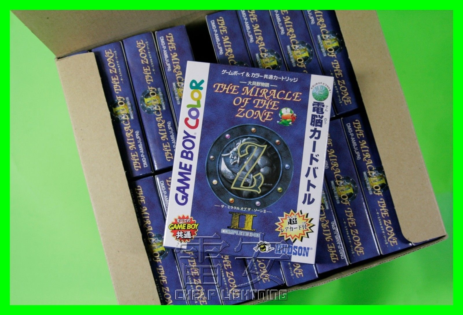Game boy color japan - Miracle Of The Zone Ii 2 Gameboy Color New Nib Japan Jp Dmg Am6j Nintendo Cheap Lightning
